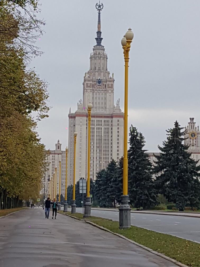 تور روسیه-دانشگاه مسکو