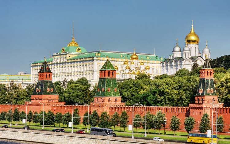تور روسیه-کاخ کرملین
