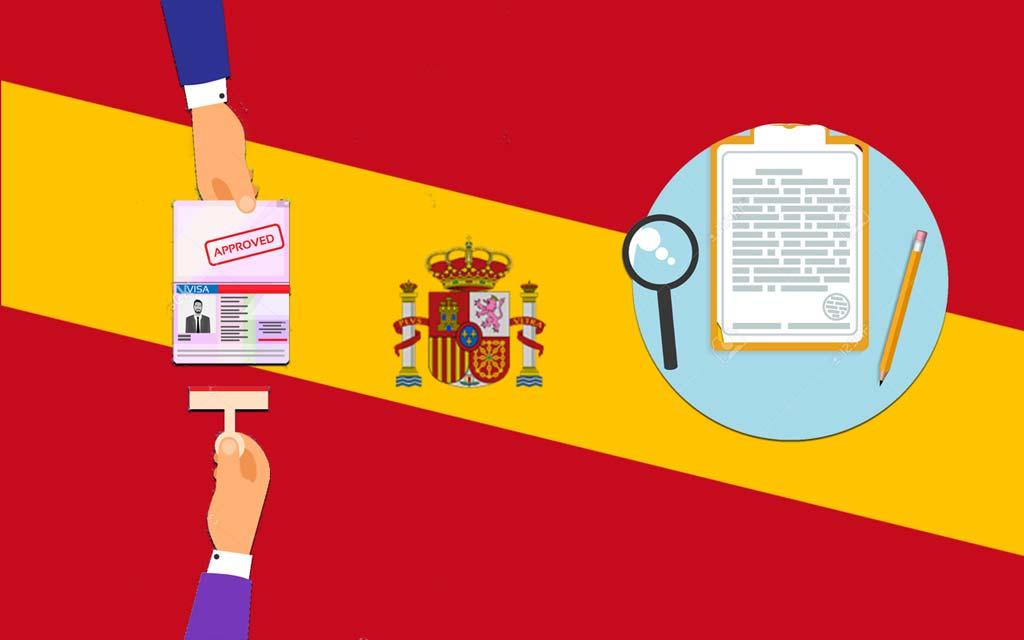 مدارک لازم ویزای اسپانیا