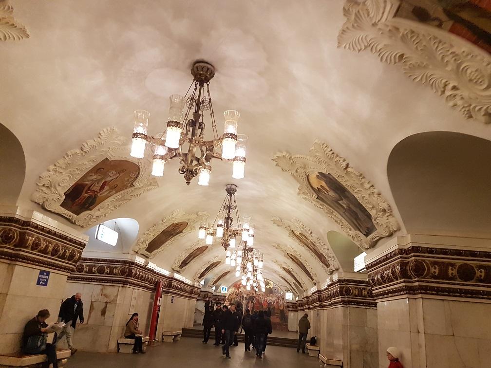 تور روسیه مترو مسکو