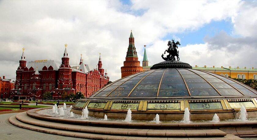 تور روسیه-میدان مانژ